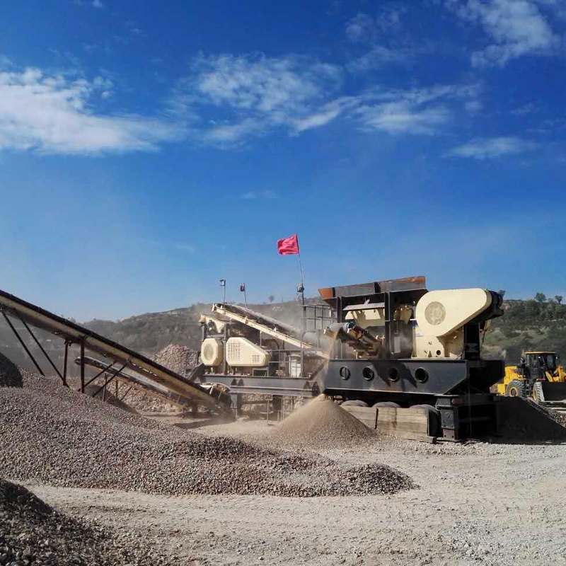 Great Proficiency Portable Rock Crusher For Sale